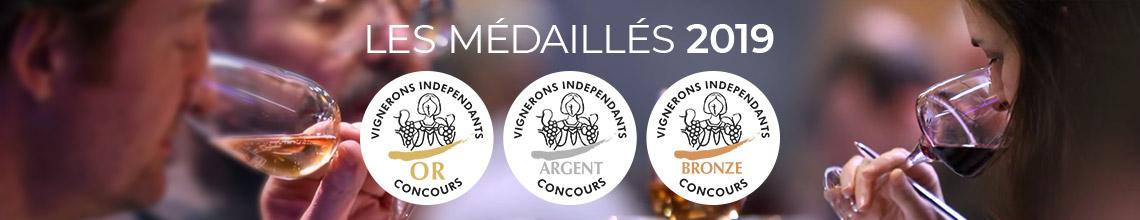 Médaillés 2018- Vignerons Indépendants