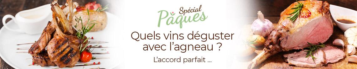 Sélection accords Mets&Vins - Pâques Agneau&Vin -  Vignerons Indépendants