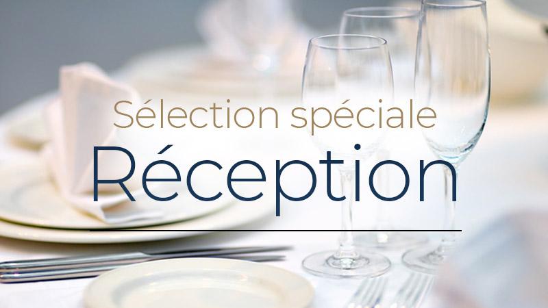 Sélection spéciale réception - Champagne médaillé à partir de 16€ - Vigneron Indépendant