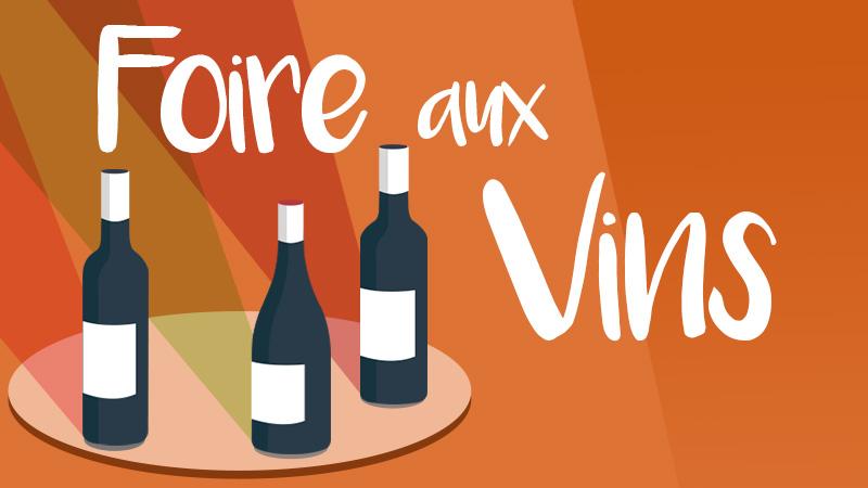 Foire aux vins - Vignerons Indépendants