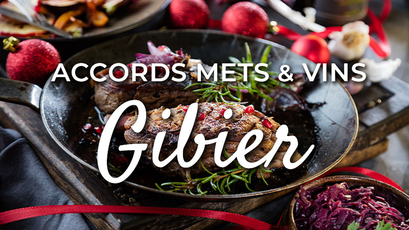 accords mets vins gibiers