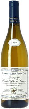 DOMAINE MAZILLY PERE &FILS Bourgogne Hautes Côtes de Beaune Clos du Bois Prévot Bourgogne AOP