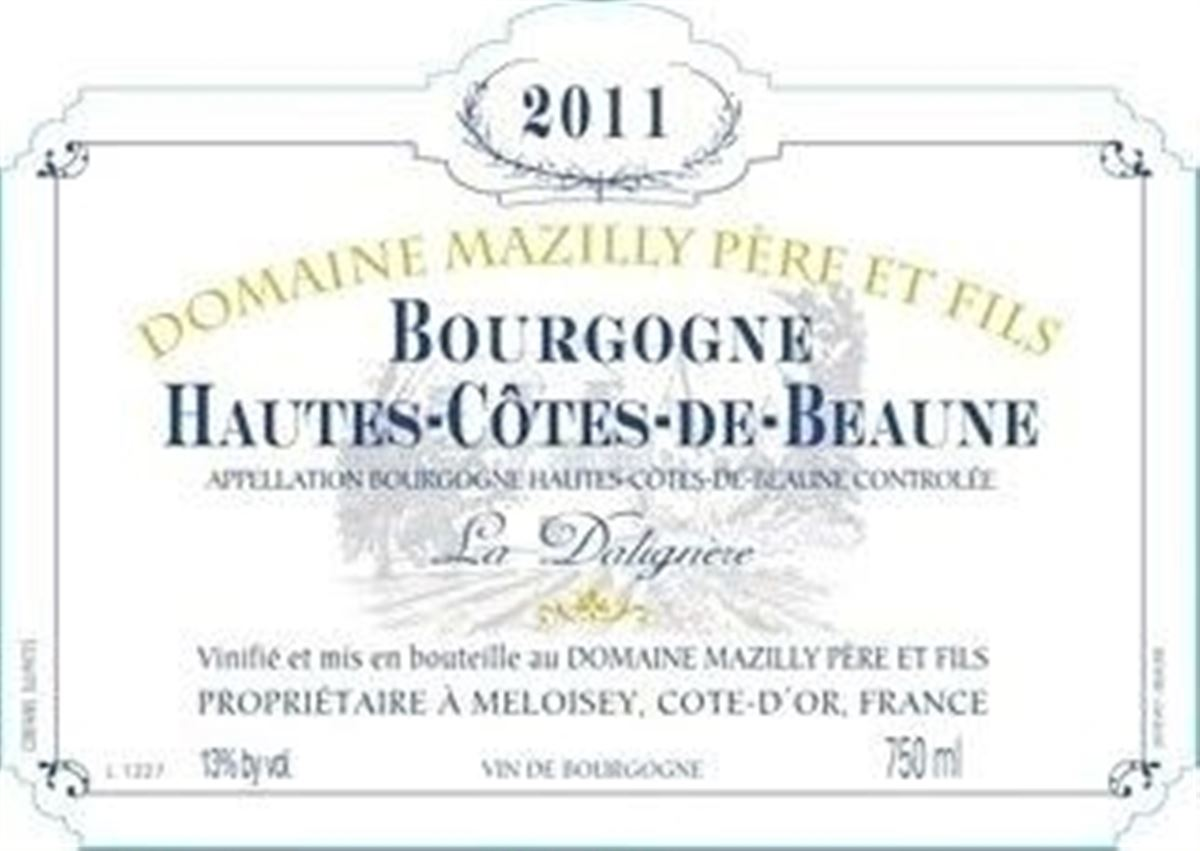 Domaine Gabriel Bouchard Bourgogne Hautes Cotes De Beaune