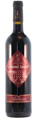 """CHATEAU DE L HERBE SAINTE """"Stock disponible 60 bouteilles"""""""
