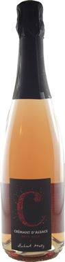 Domaine Hubert METZ Crémant Brut Rosé C Crémant d'Alsace AOP