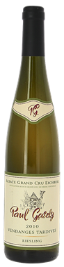 PAUL GASCHY - ALSACE GRAND CRU EICHBERG - VENDANGES TARDIVES