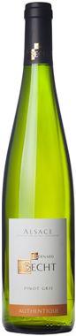 Domaine Bernard BECHT - Pinot Gris Authentique 2016