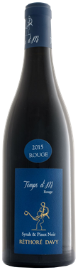 Vignoble Réthoré Davy Temps d'M Rouge Vin de France Sans indication géo.