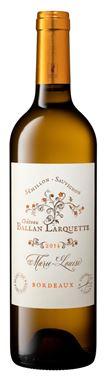 Château Ballan-Larquette - cuvée Marie-Louise