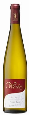 DOMAINE WELTY Jean-Michel Pinot Gris cuvée Jérémy Alsace AOP