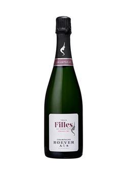 Champagne BOEVER A&S 3 Filles de caractère   GRAND CRU Champagne Grand Cru Blanc