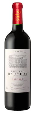 Famille Saby Château Hauchat Fronsac Rouge 2019