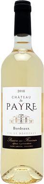 Château du Payre blanc 2018, sec et fruité