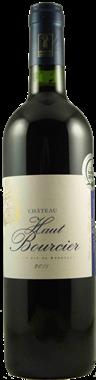 Château HAUT BOURCIER Cuvée traditionnelle  Blaye Côtes de Bordeaux AOP
