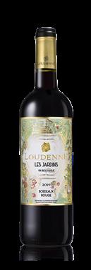 Les Jardins bio de Loudenne - vin rouge