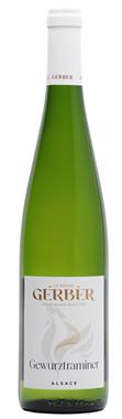 Domaine Gerber Gewurztraminer Alsace gewurztraminer Blanc 2015