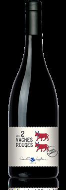 Famille LAPLACE les 2 vaches rouges Vin de France Sans indication géo.