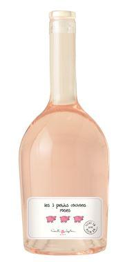 Famille LAPLACE Les 3 petits cochons roses Vin de France Sans indication géo.