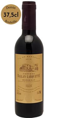 Demi-bouteille Château Ballan-Larquette 2017 - médaille Or Bordeaux - Vignobles Chaigne