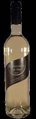 Roumanières en Blanc - Pays d' Oc  2014