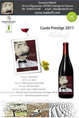 Domaine Maltoff Cuvée Prestige Bourgogne AOP