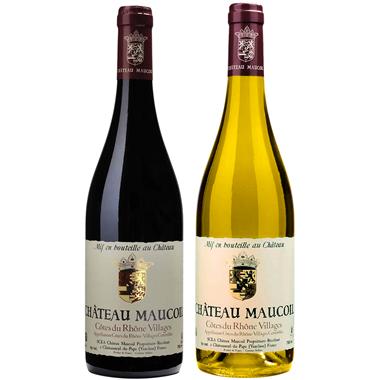 Château Maucoil - Mix Côtes du Rhône Villages Rouge et Blanc