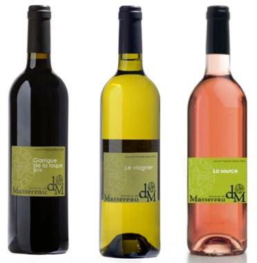 Domaine de Massereau - RENCONTRE Découverte 2017 - 6 bouteilles