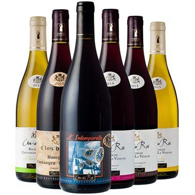 Clos du Roi - Coffret découverte de nos Bourgogne Coulanges rouges et blancs.
