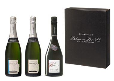 Coffret Chic 3 Champagnes Découverte