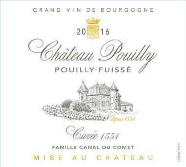 CHATEAU  POUILLY Pouilly-Fuissé
