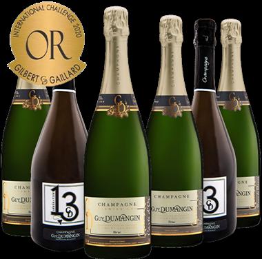 Champagne Guy DUMANGIN Cuvées Médaillées