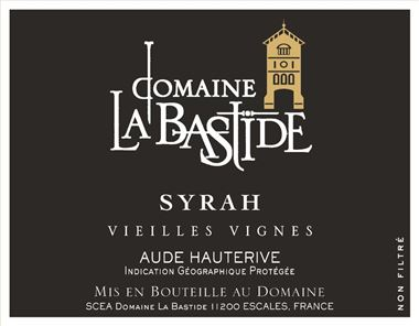 Domaine La Bastide Syrah