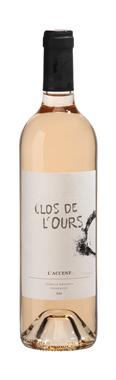 Domaine Clos de l'Ours L'ACCENT Côtes de Provence Rosé 2020