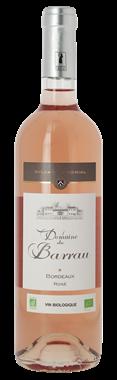 Domaine du Barrau Bordeaux rosé Bio 2020 Bordeaux Rosé 2020