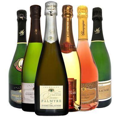 COFFRET  DECOUVERTE  Champagne André Delaunois