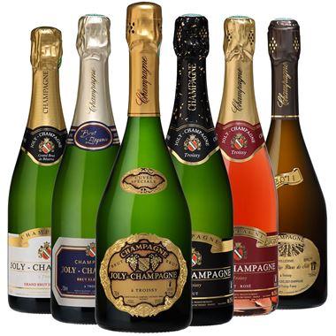 Joly Champagne - Caisse découverte