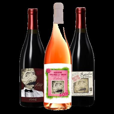 Trio Rosé Rouge Ratafia - Domaine Maltoff
