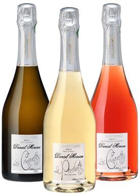 """Champagne Daniel Moreau """"Coffret """"Parcellaires"""""""