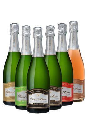 """Champagne Daniel Moreau """"Coffret """" Découverte """""""