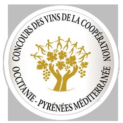 Concours des Vins de la Coopération - Occitanie Pyrénées Méditerranée 2018 : Médaille d'or