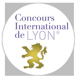 Concours des vins de Lyon 2017 : Médaille d'argent