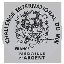 Challenge international du vin 2017 : Médaille d'argent