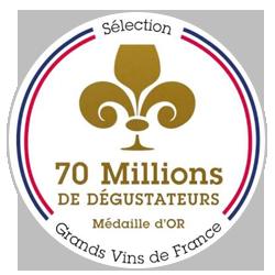 70 Millions de Dégustateurs 2016 : Gold medal