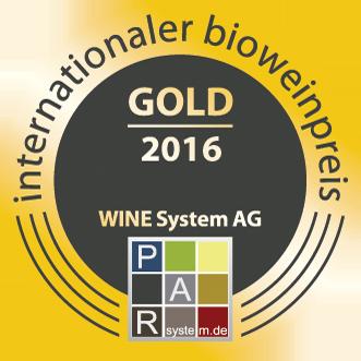 Bio Wein Preis  2016 : Médaille d'or