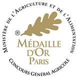 Concours général agricole 2016 : Médaille d'or