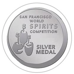 San Francisco World Spirit Competition  2020 : Silver Medal