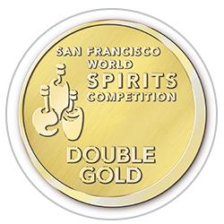 San Francisco World Spirit Competition  2015 : Double Gold Medal
