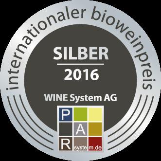 Bio Wein Preis  2016 : Argent