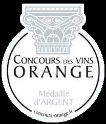Concours des vins d'Orange 2019 : Médaille d'argent