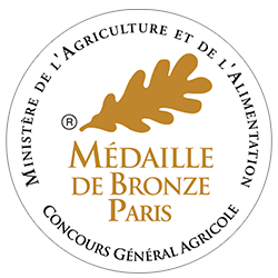 Concours Agricole de Paris 2014 : Médaille de bronze